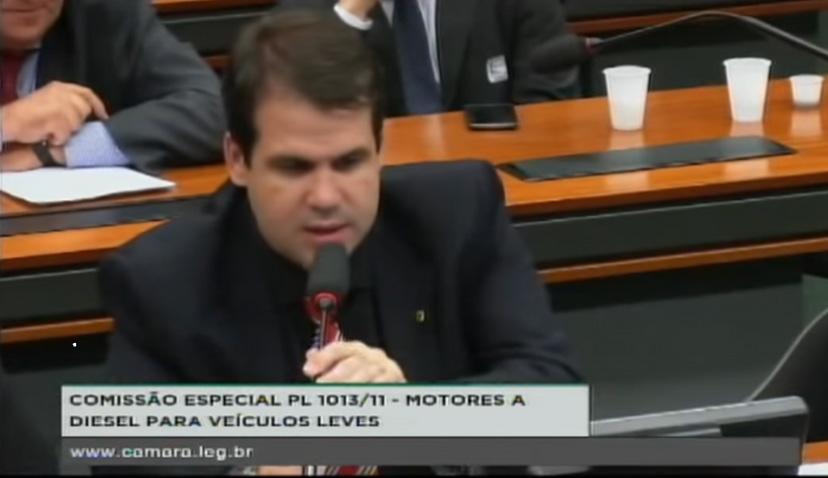Aureo na Comissão Especial destinada a proferir parecer sobre veículos utilitários movidos a óleo diesel