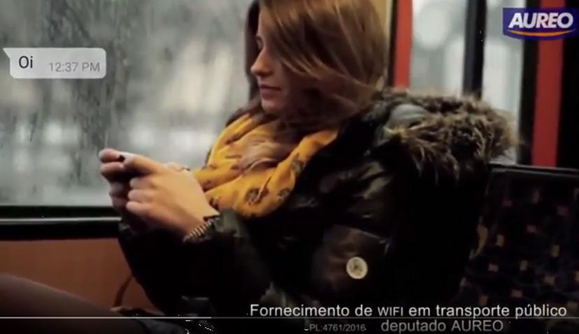 Fornecimento de internet em transporte público de passageiros