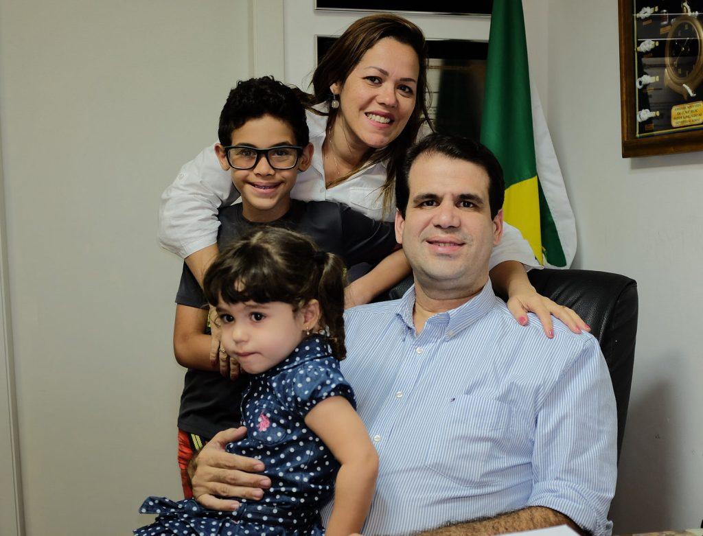Deputado Aureo em família