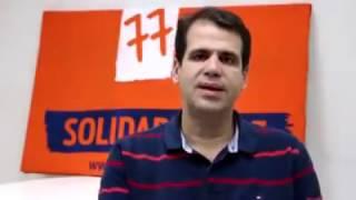 Deputado Aureo Líder do Solidariedade na Câmara