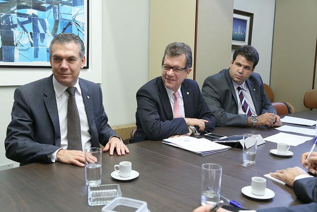 Aureo participa da primeira Reunião da Bancada do Solidariedade
