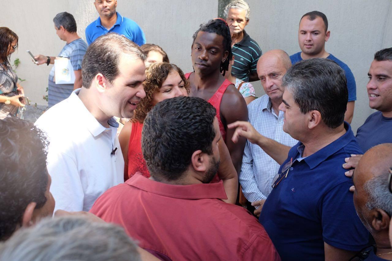 Aureo participa de reunião com lideranças na casa do prefeito de Caxias