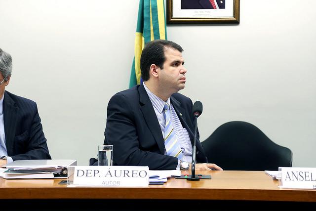 Aureo é eleito primeiro vice-presidente da comissão de trabalho, de administração e serviço público