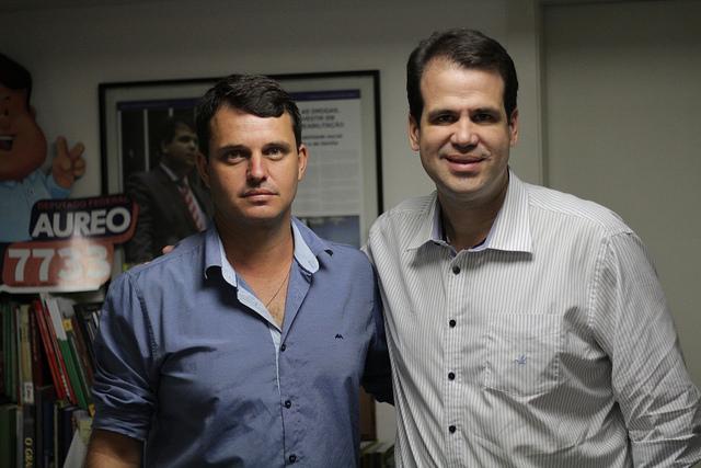 Aureo com Vereador Wendel Godinho