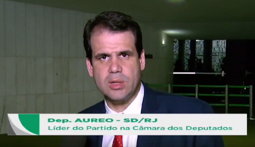 Aureo líder do SD considera desumano texto atual da reforma previdenciária