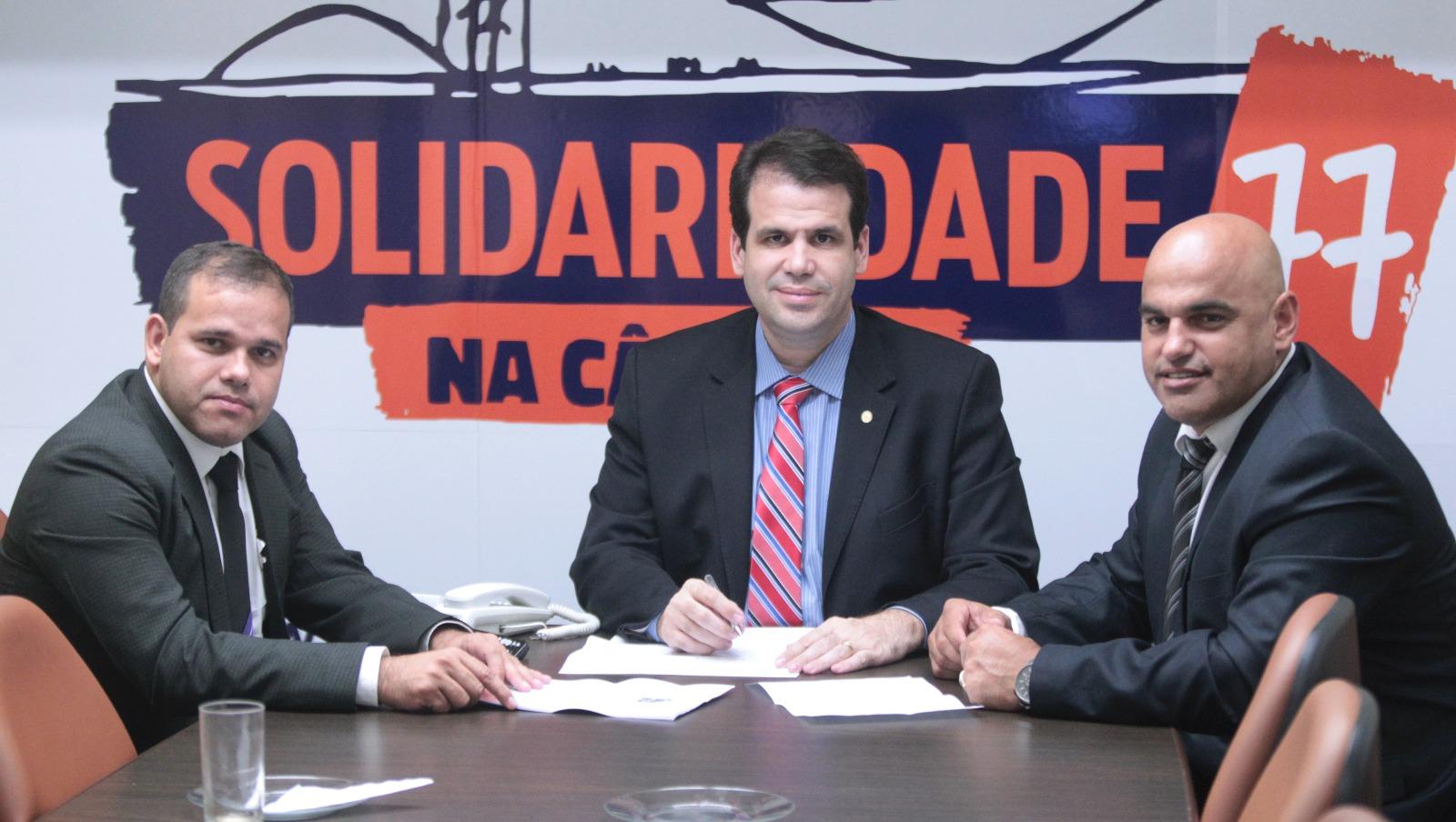 Aureo recebe secretários de governo da cidade de Saquarema