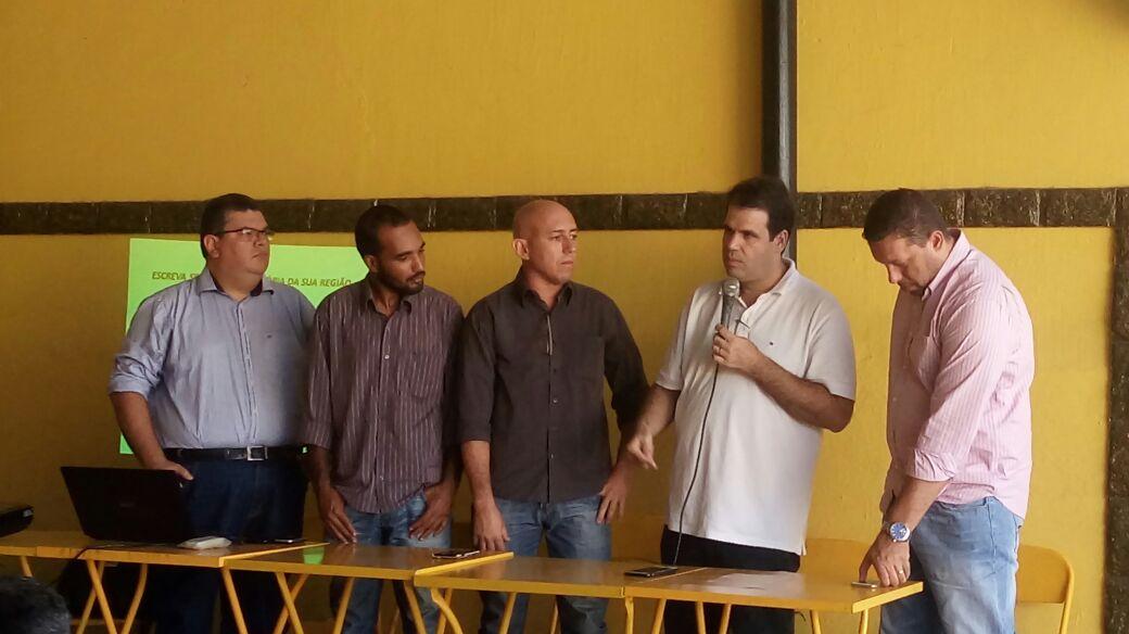 Reunião com a Câmara Comunitária de Bangu