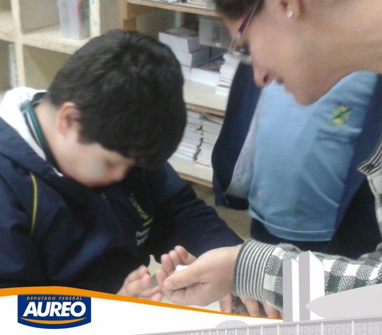 Deputado Aureo apresenta PL criando o cargo de professor de apoio especializado em Educação Especial