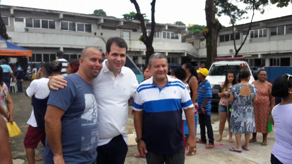 """Aureo participa do projeto """"Governo Presente"""", em Duque de Caxias"""
