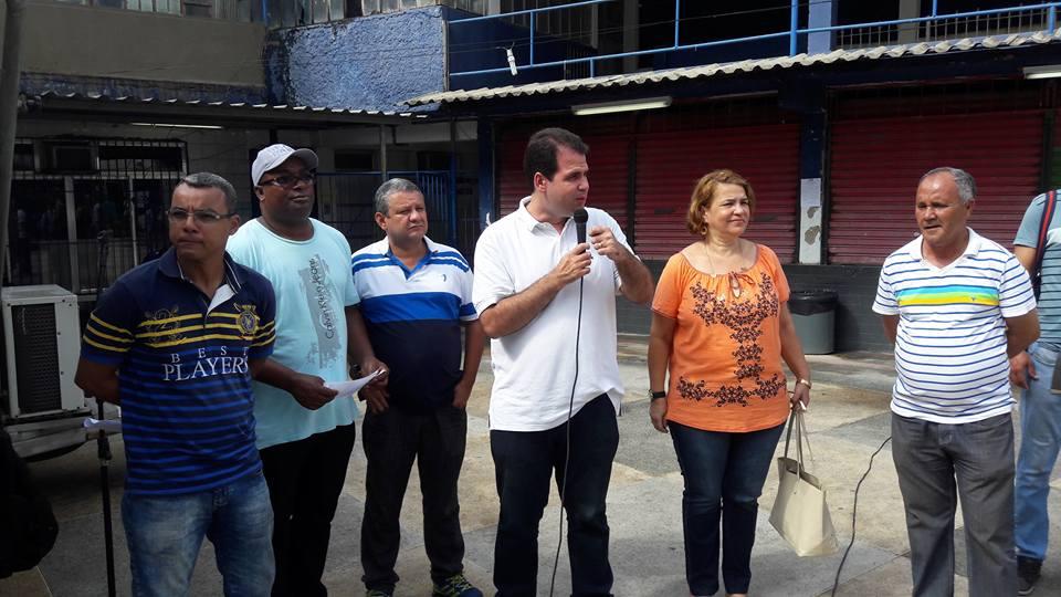 Ação Social na Igreja Batista no bairro Parque Lafaiete