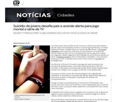 """Seriado""""13 Reasons Why"""" e Jogo da Baleia Azul colocam tema """"suicídio"""" no centro do debate"""