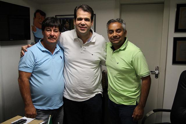 Aureo recebe amigos da cidade de Campos dos Goytacazes