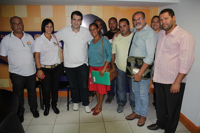 Aureo recebe Federação de trabalhadores do Setor Agrícola de Duque de Caxias