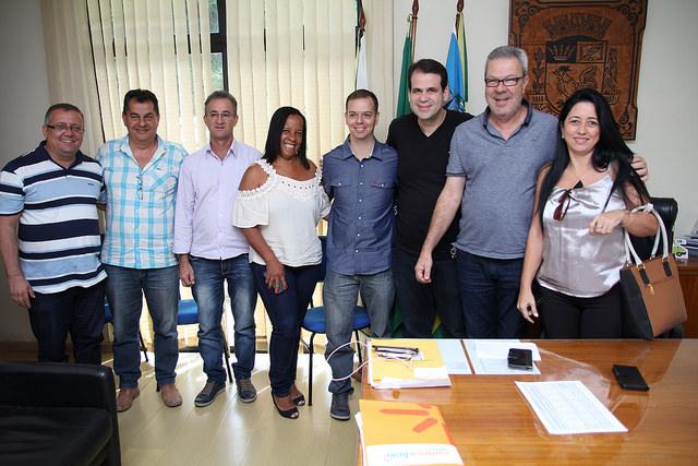 Aureo visita o município de Cantagalo