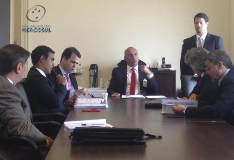 Deputado Aureo participa de Comissão, em Montevideo, como membro indicado para o Parlamento do Mercosul