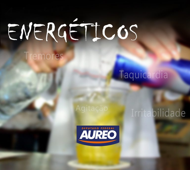 Aureo propõe venda de energéticos apenas em farmácias
