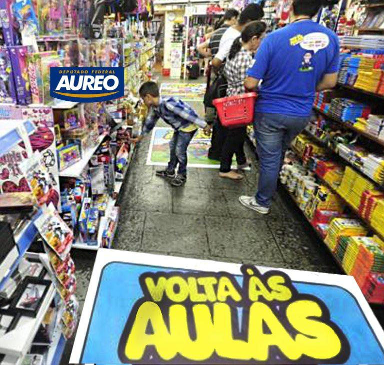 Aureo apresenta projeto de isenção do IPI para produtos destinados ao uso escolar