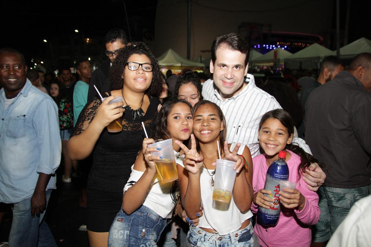 Aureo na Festa de Santo Antônio em Duque de Caxias