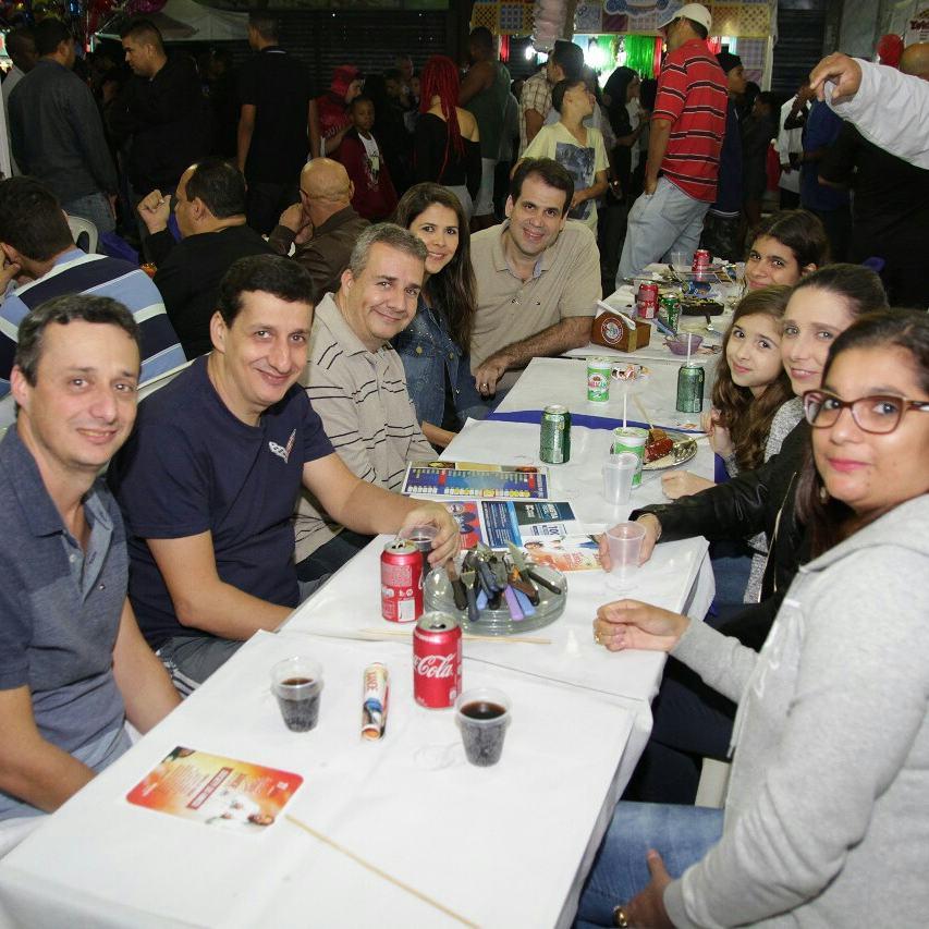 Aureo na feira de Santo Antônio em Caxias