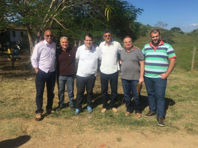 Aureo participa de evento para entrega de DAPs em Itaperuna