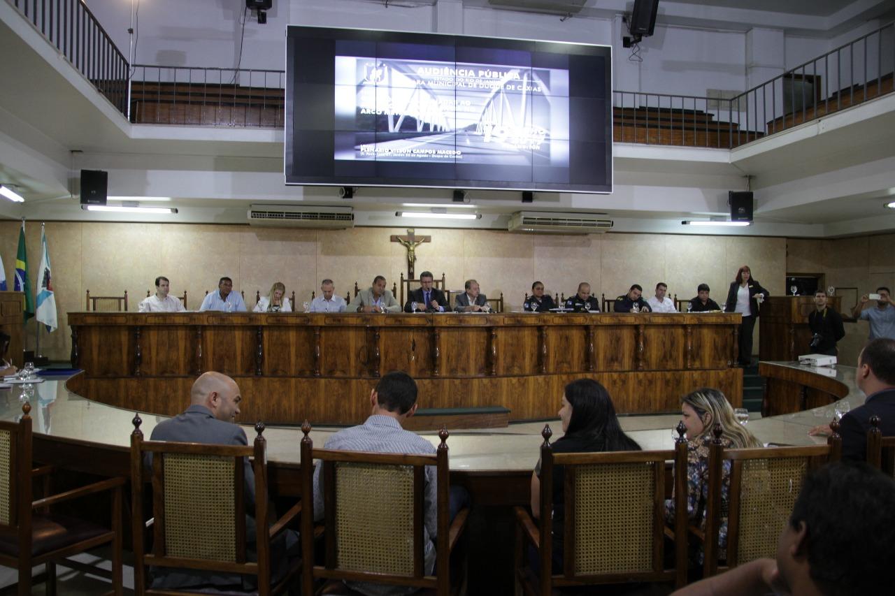 Audiência Pública para tratar de questões relacionadas ao abandono, à violência e a competência da administração do Arco Metropolitano.