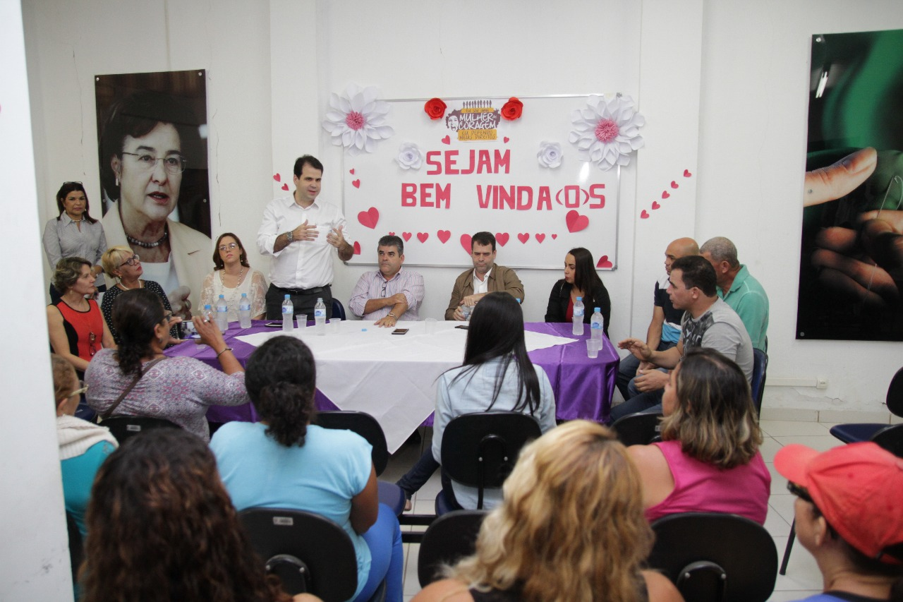 Aureo participa da Inauguração do Centro Especializado de Atendimento à Mulher em Duque de Caxias