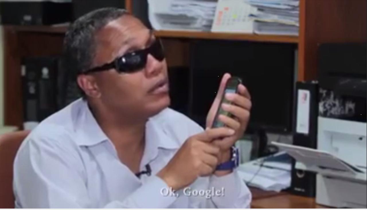 Isenção do imposto sobre smartphones para deficientes visuais