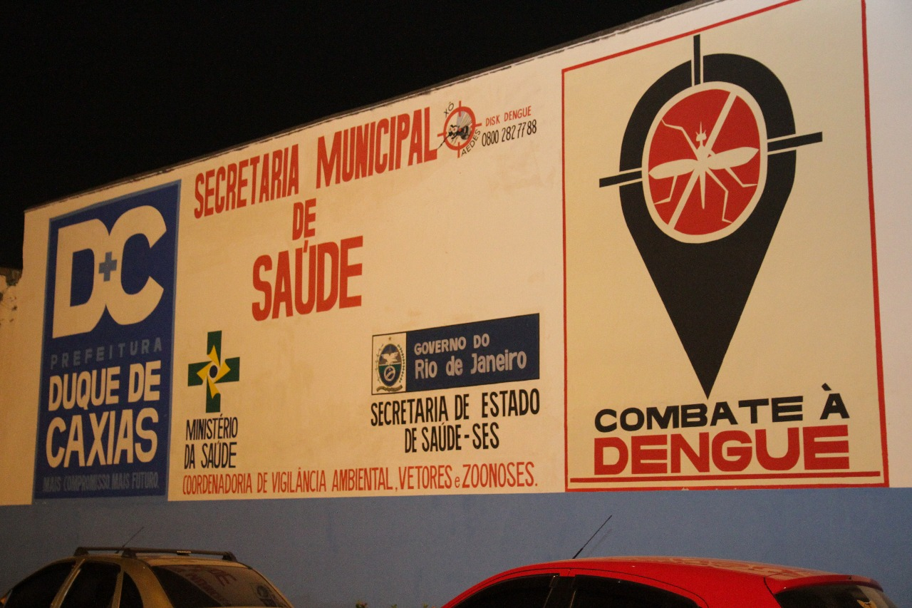 Inauguração da sede do Programa Municipal de Combate à Dengue de Duque de Caxias