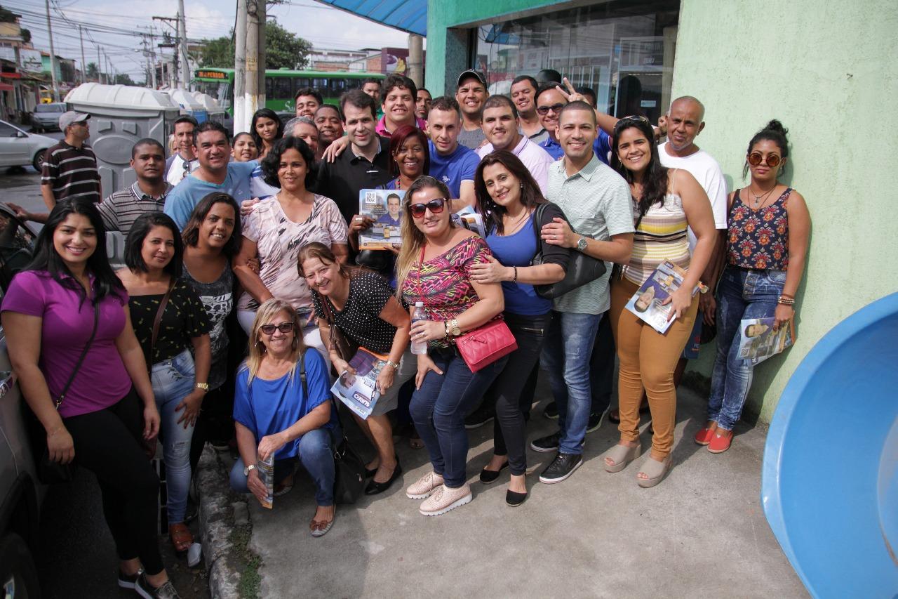Prestação de contas no bairro Sarapuí, Duque de Caxias