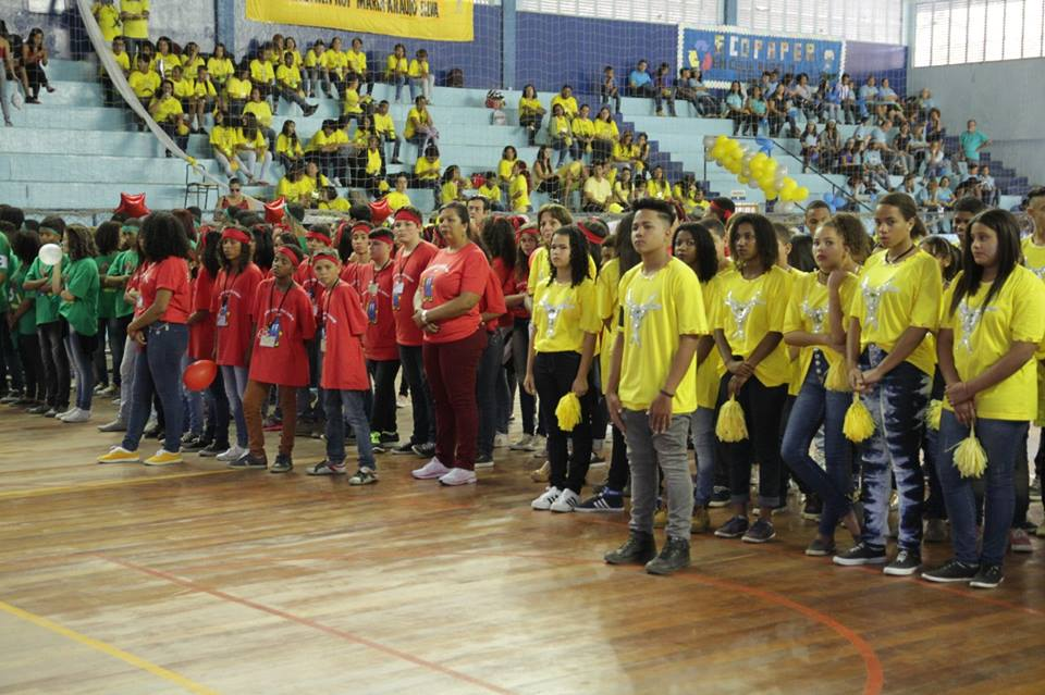 Aureo participa da final da 1ª Gincana Estudantil – Praticando a Reciclagem, na Vila Olímpica de Duque de Caxias