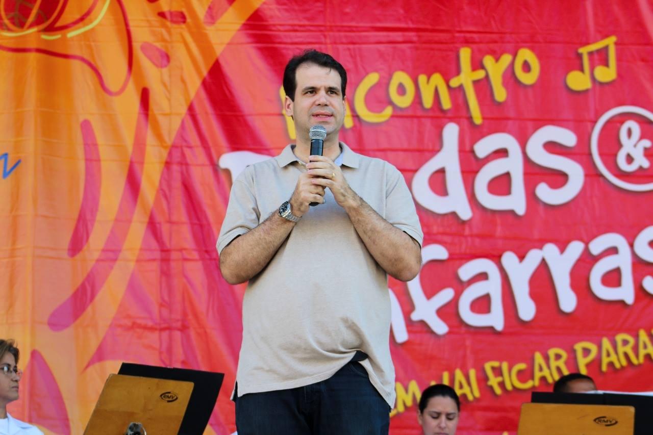 Aureo participa da abertura do Encontro de Bandas e Fanfarras 2017