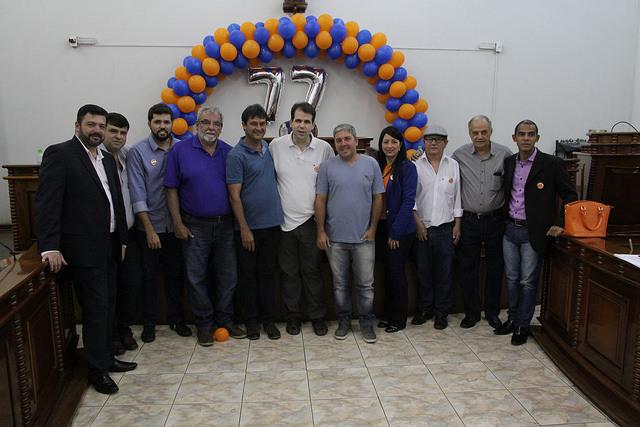 Aureo participa de convenção do Solidariedade em Santo Antônio de Pádua