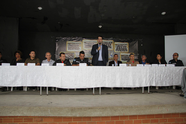 Aureo participa da 1ª Reunião de Integração Comunitária do 4º Distrito