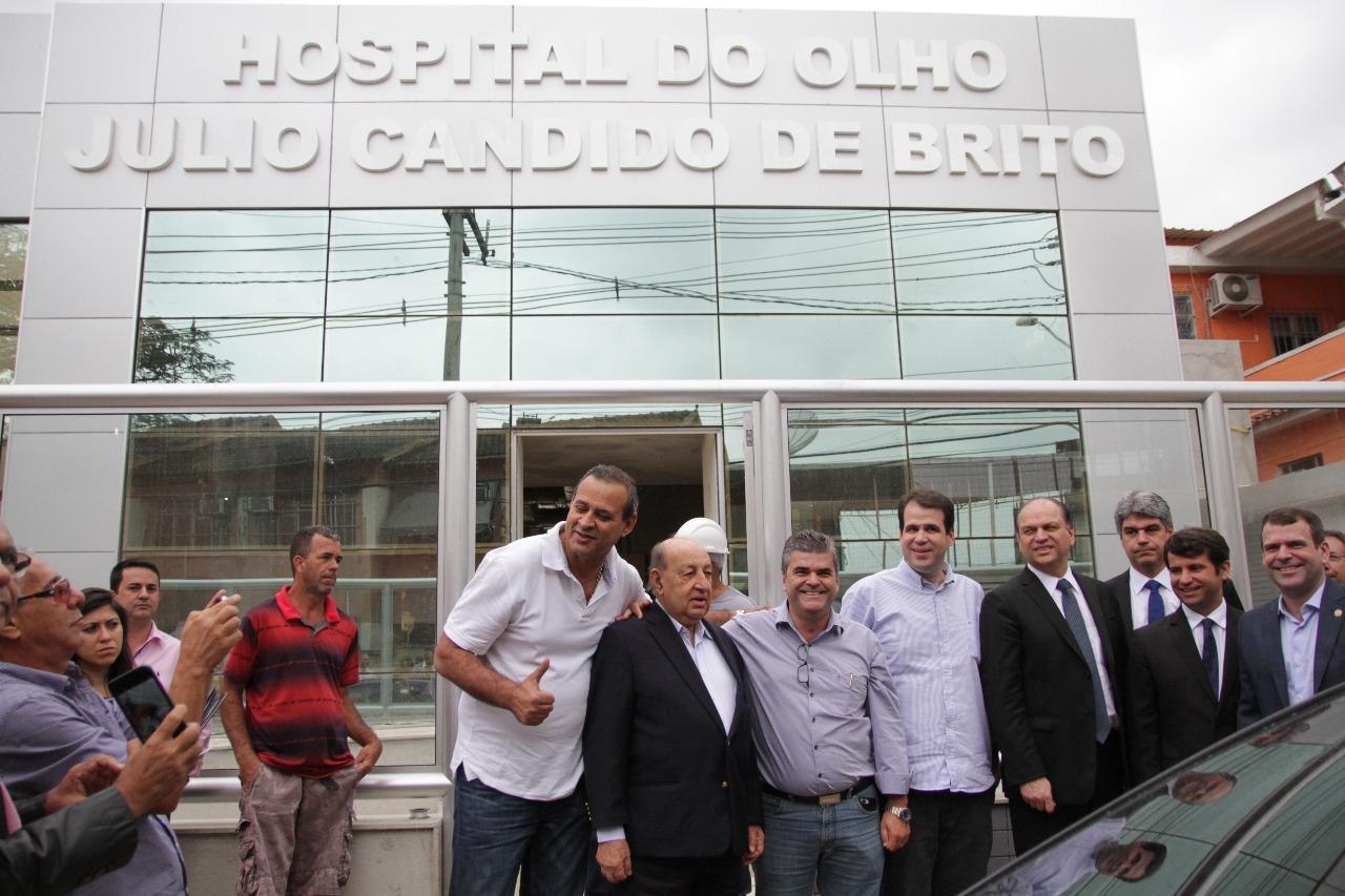Aureo acompanha visita do Ministro da Saúde, Ricardo Barros, em Duque de Caxias