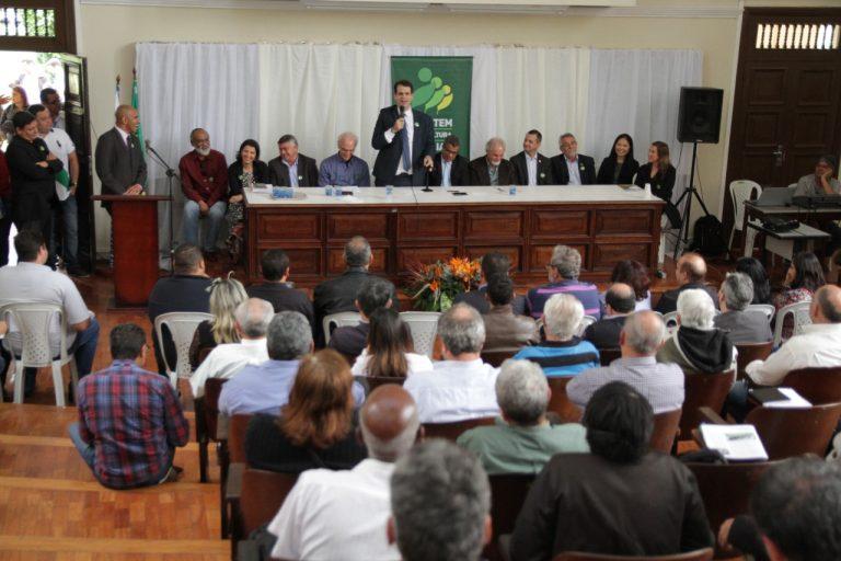 Aureo participa do Lançamento do Plano Safra da Agricultura Familiar e entrega do selo SIPAF 2000
