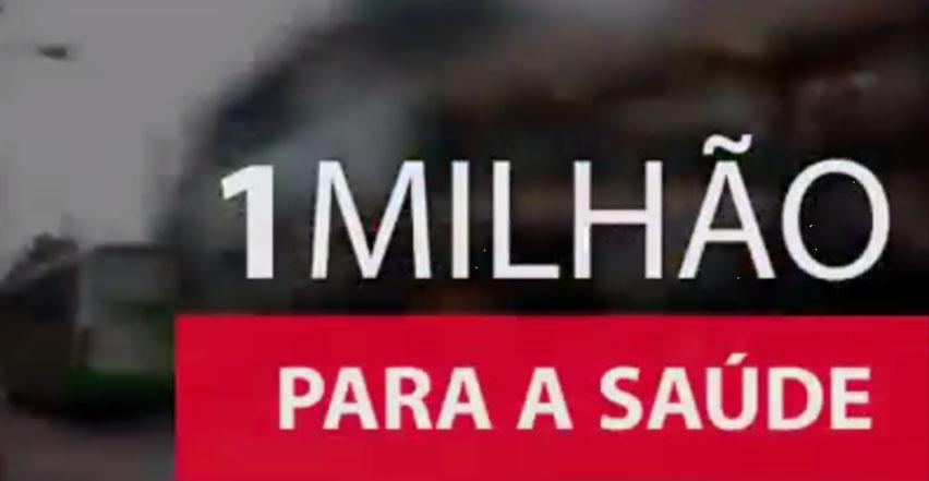 Aureo destina 1Milhão para a área de Saúde da cidade de Nova Iguaçu