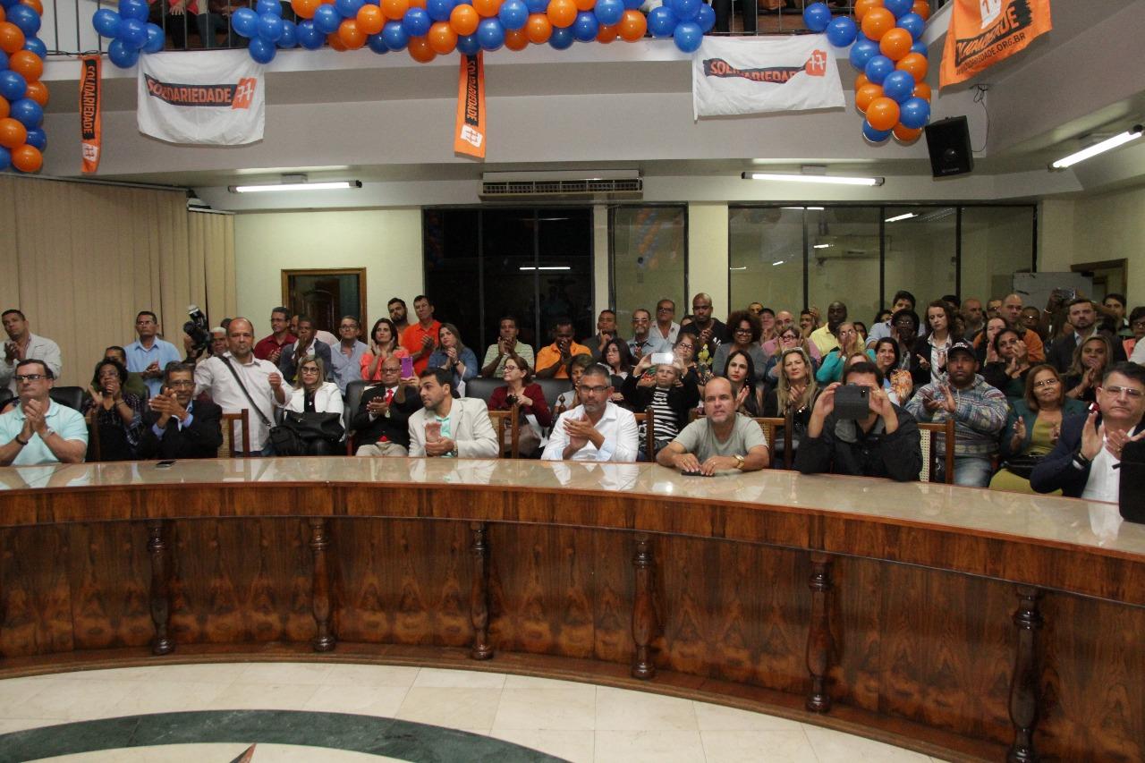 Aureo participa de Convenção do partido Solidariedade em Duque de Caxias