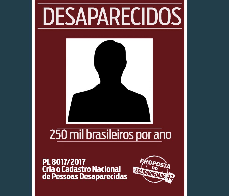 Criação do Cadastro Nacional de Pessoas Desaparecida é aprovado na Câmara