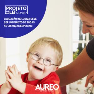 Projeto de lei promove a inclusão da criança com deficiência