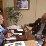 Aureo e prefeito Alessandro, de Paraíba do Sul