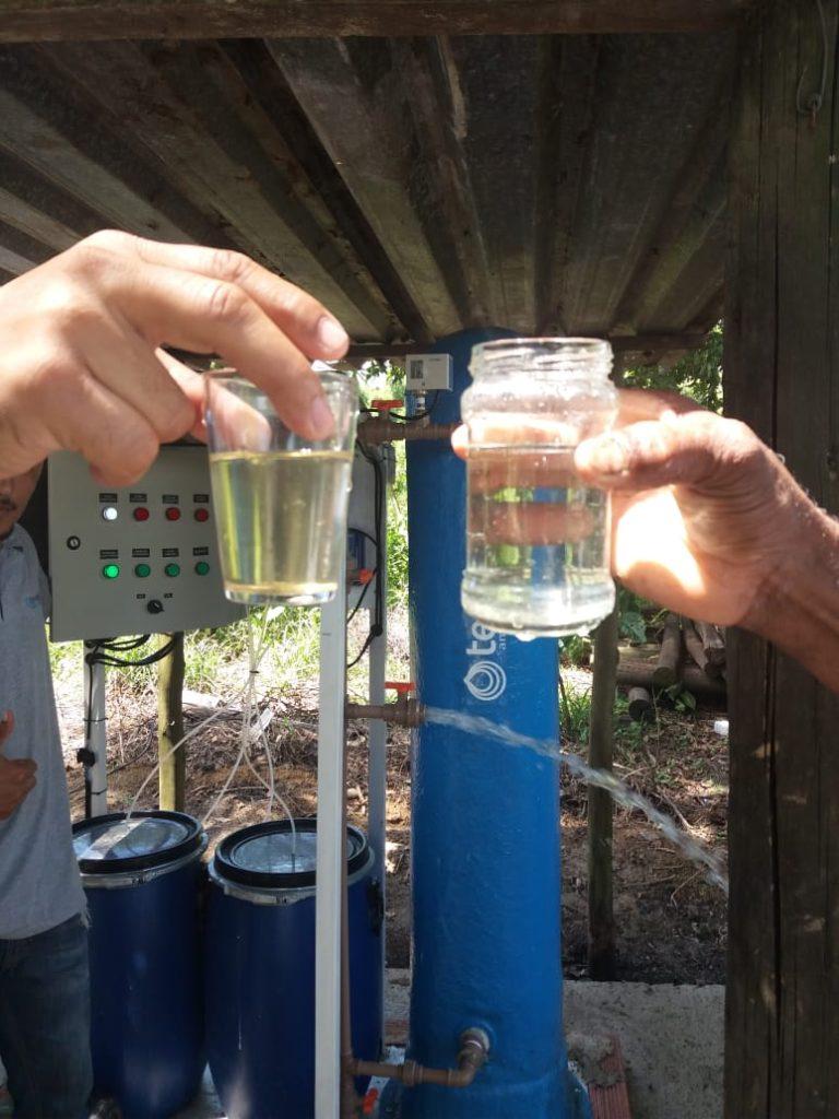 Assentados terão água limpa na torneira graças a intervenção do deputado Auro Ribeiro