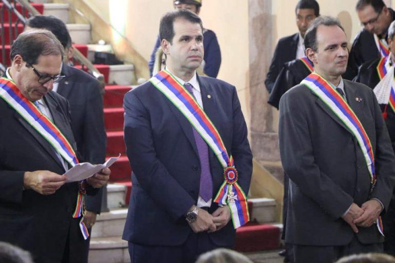 Aureo recebe a Ordem do Mérito Judiciário do Trabalho