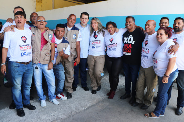 Juntos no combate à dengue