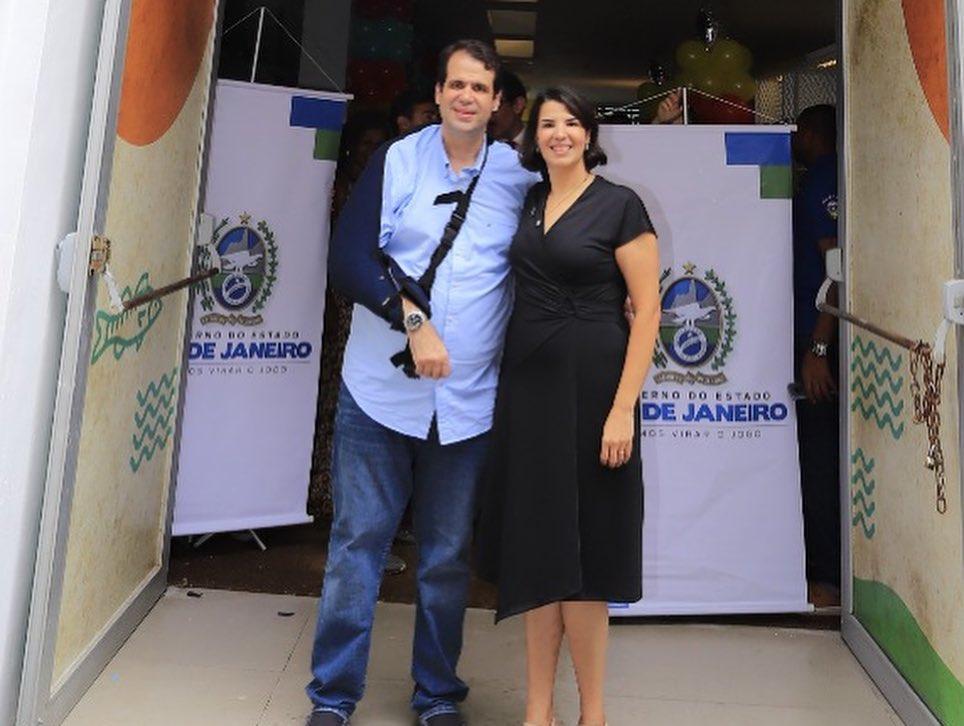Aureo Ribeiro e Danielle Barros