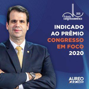 Indicado ao Prêmio Congresso em Foco 2020