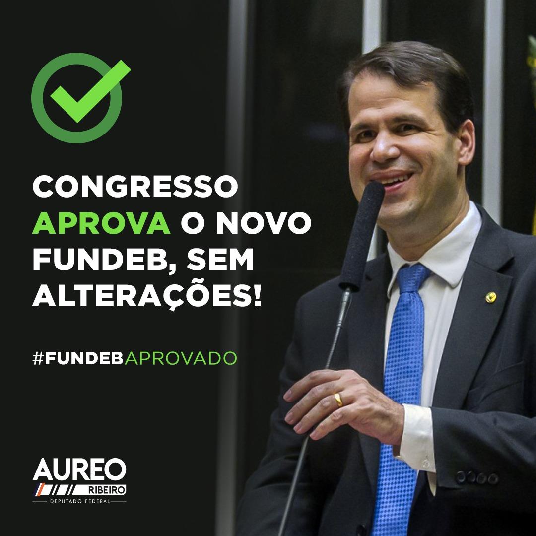 Congresso aprova novo Fundeb