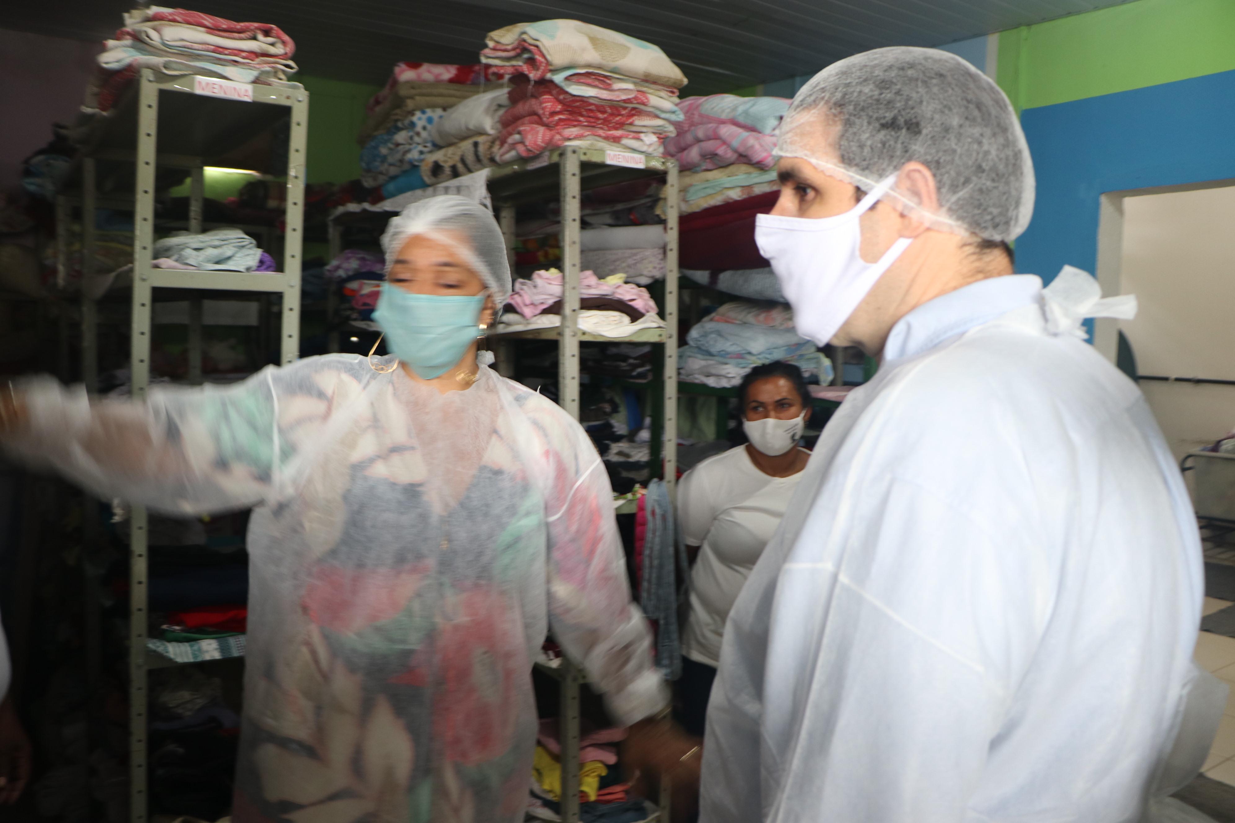 Recurso federal para o Abrigo Betel, em Caxias