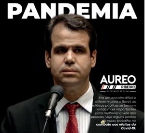 Pandemia revista digital deputado Aureo Ribeiro