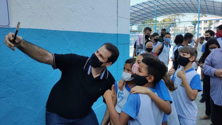 Read more about the article Verba para a reforma da Escola Municipal Olga Teixeira